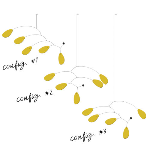 Mobiles Calder Personnalisables Gamme Momiji | Virvoltan