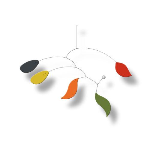 Mobile Calder Personnalisable Bolero Configuration Autre sur fond blanc | Virvoltan