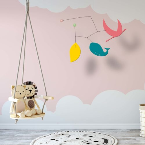 Ines et Leo, Customizable Baby Decoration Mobile | Virvoltan