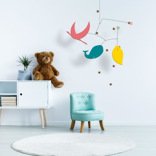 Ines and Leo, Customizable Baby Mobile | Virvoltan
