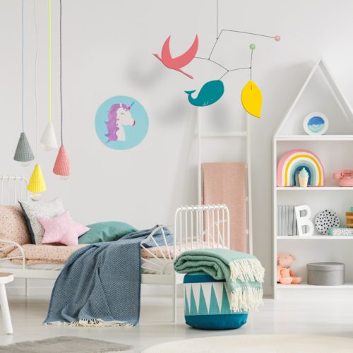Ines and Leo, Baby Decoration Mobile | Virvoltan