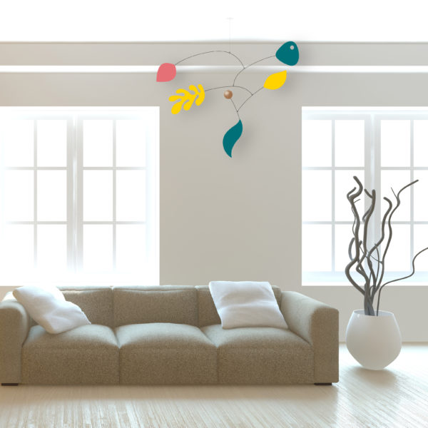 Paquita, hanging mobile, Virvoltan customizable mobile, display 2