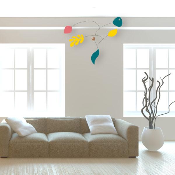 Paquita, hanging mobile, Virvoltan customizable mobile, display 2