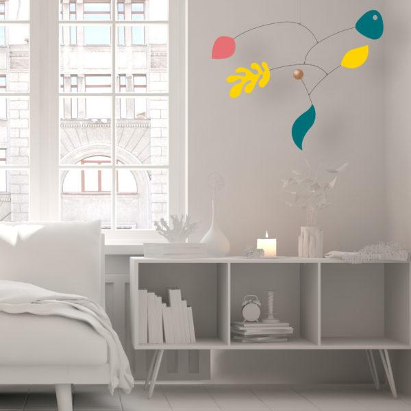 Paquita, hanging mobile, Virvoltan customizable mobile, display 1