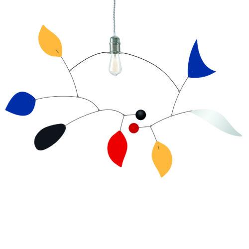 Pulcinella, ceiling light mobile, Virvoltan lighting mobile