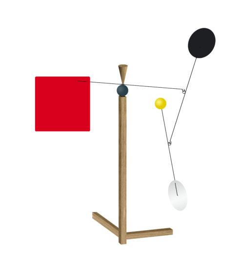 Walter, Stabile Calder Personnalisable | Virvoltan