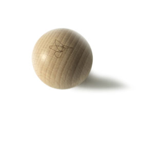 Natural beech ball, Virvoltan decorative mobile accessorie