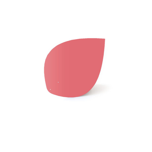 Old pink leaf, Virvoltan thin lacquered blade