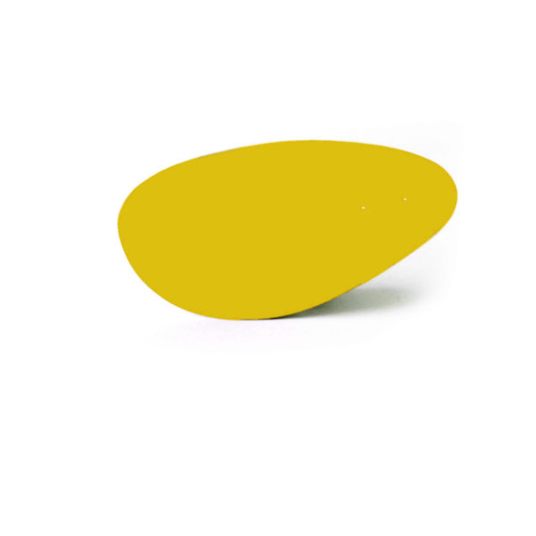 lemon yellow menhir, Virvoltan thin lacquered blade