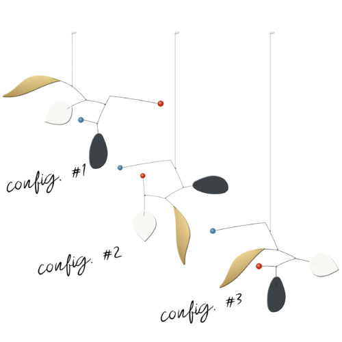 Customizable Calder Mobiles Citrus Range | Virvoltan