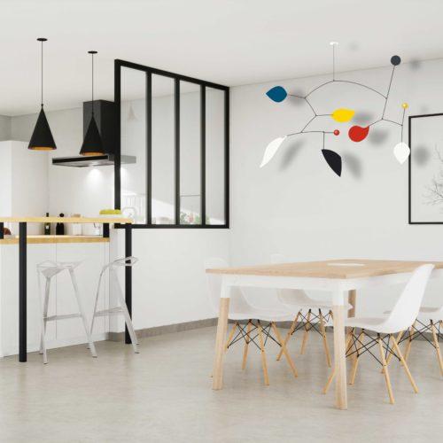hanging mobile Calder Virvoltan