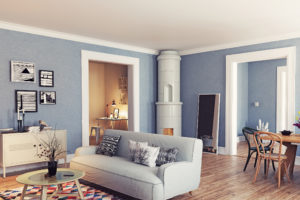 Appartement Vintage_Avant_ Plafond nu