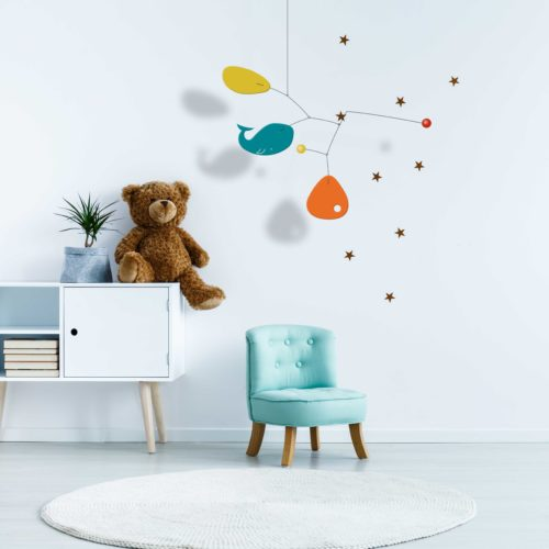 Enzo, Customizable Baby Hanging Mobile | Virvoltan