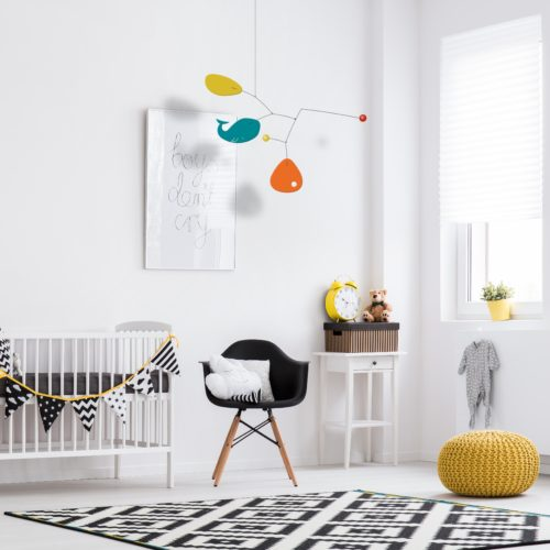 Enzo, Design Baby Hanging Mobile | Virvoltan