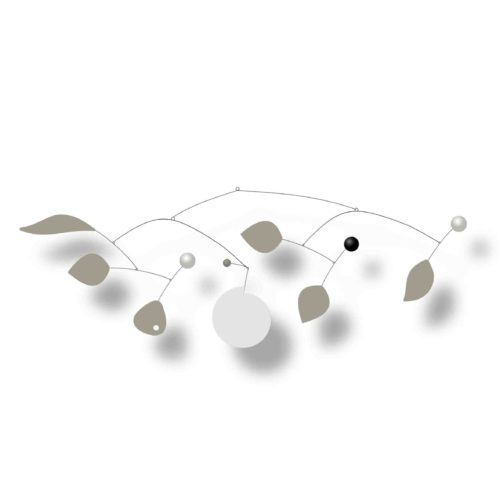 Customizable Calder hanging mobile Baobab