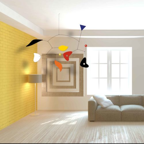 Casse-Noisette, Mobile Calder Personnalisable Facile A Installer | Virvoltan