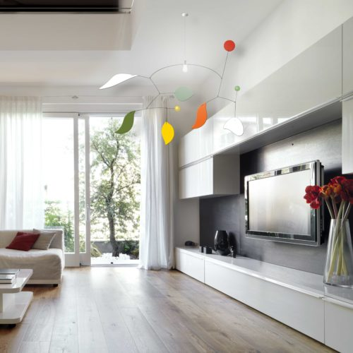 Romeo & Juliette, Ceiling lighting mobile | Virvoltan