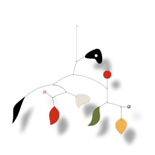 Bayadère, Mobile décoratif | Virvoltan