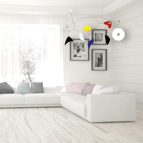 Pulcinella XXL, mobile décoratif géant | Virvoltan