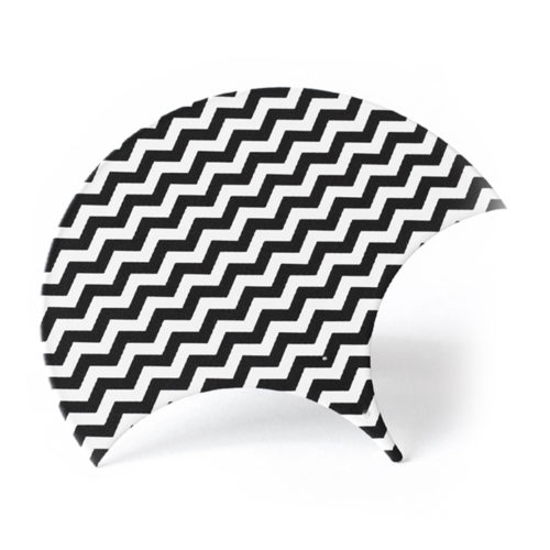 Parapluie sérigraphié art déco, feuille d'acier laquée pou mobile Calder personnalisable | Virvoltan