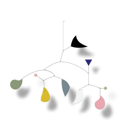 Franca Florio, hanging mobile | Virvoltan
