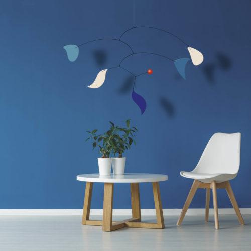 Blue Velvet, Mobile décoratif Virvoltan