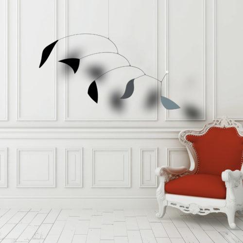Chanson d'Hiver, Mobile décoratif Virvoltan